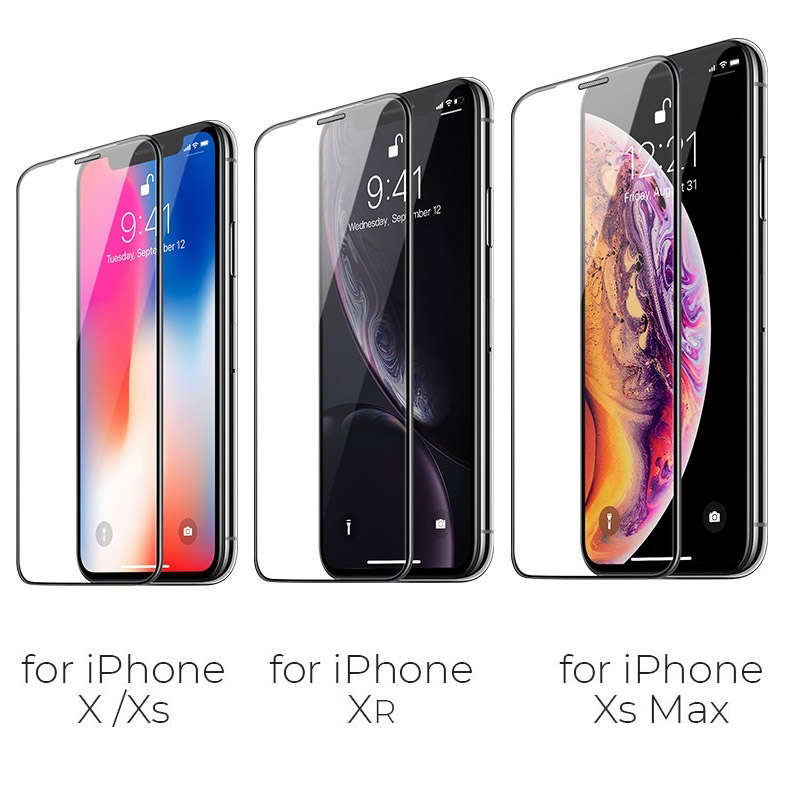 浩酷 a16 防尘高清钢化膜 hd iphone x xs max xr 型号