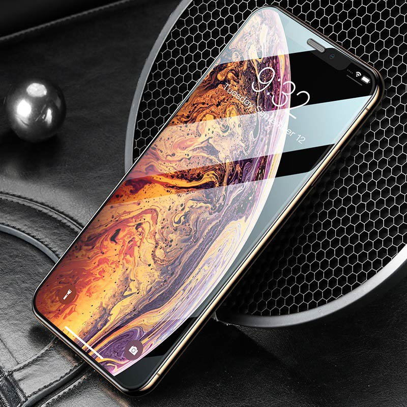 hoco a16 dustproof hd tempered glass for iphone x xs max xr overview