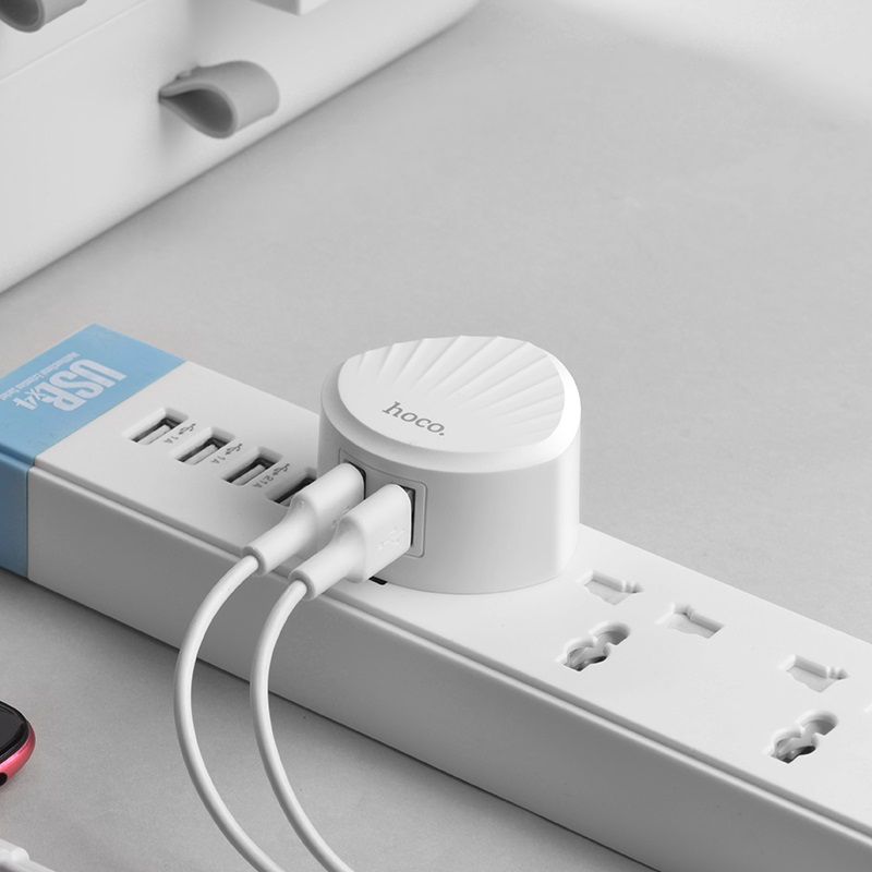 hoco c67 shell dual port wall charger us charging