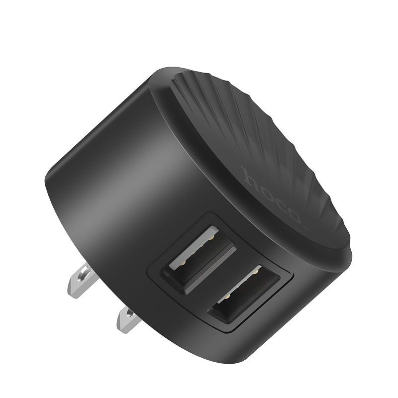 hoco c67 shell dual port wall charger us overview