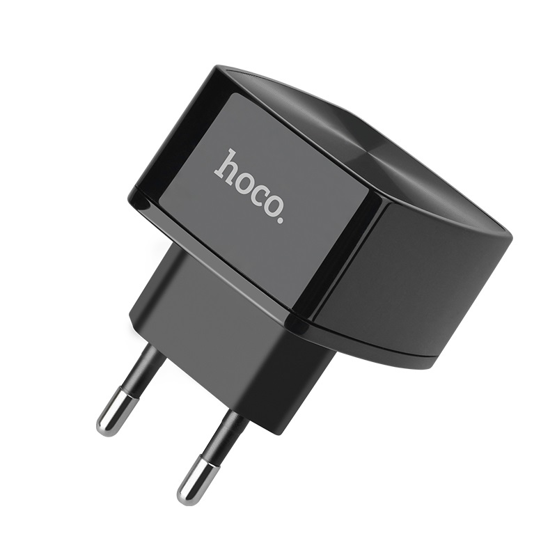 hoco c70a cutting edge single port qc30 charger eu pins