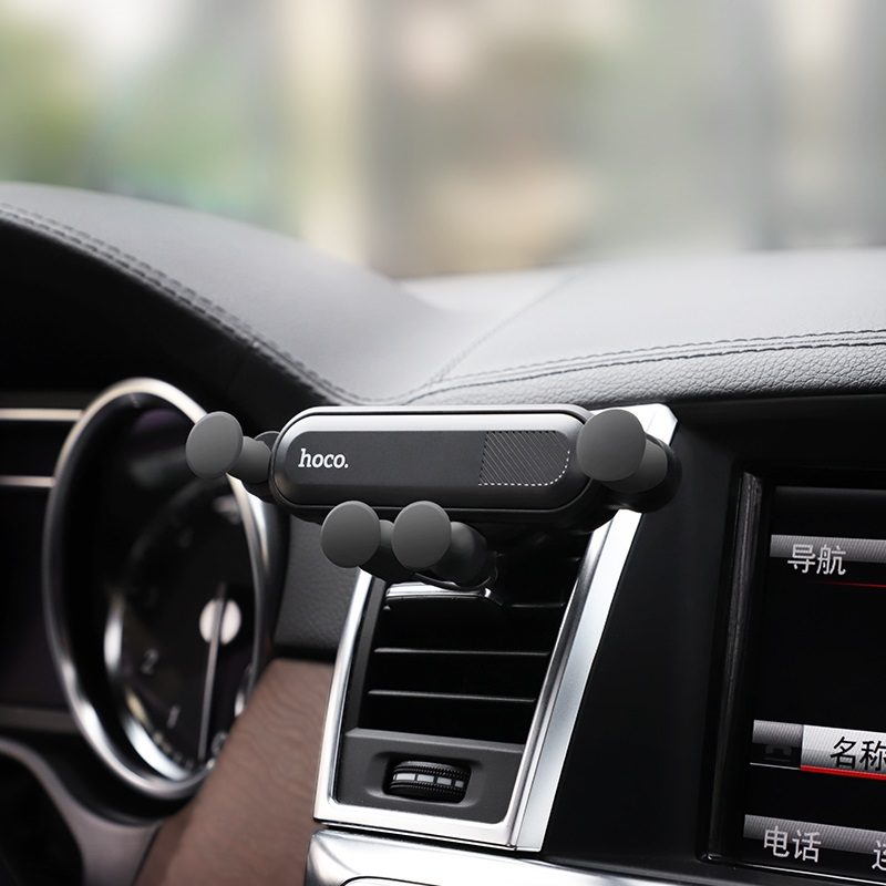 hoco ca51 gravity in car air outlet holder console