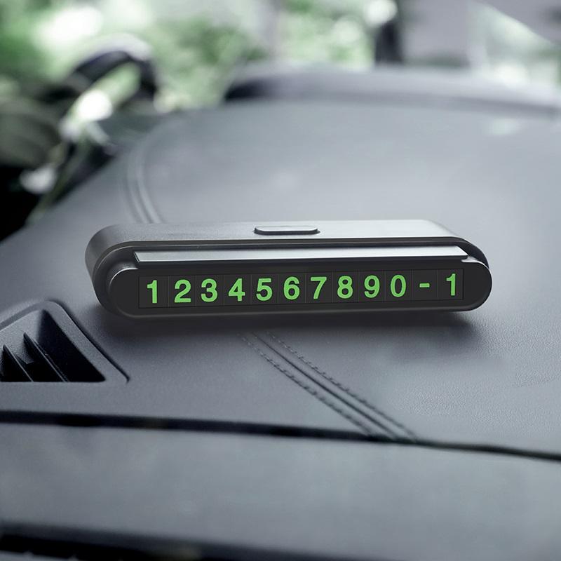 hoco cph19 one click hidden signage in car interior black
