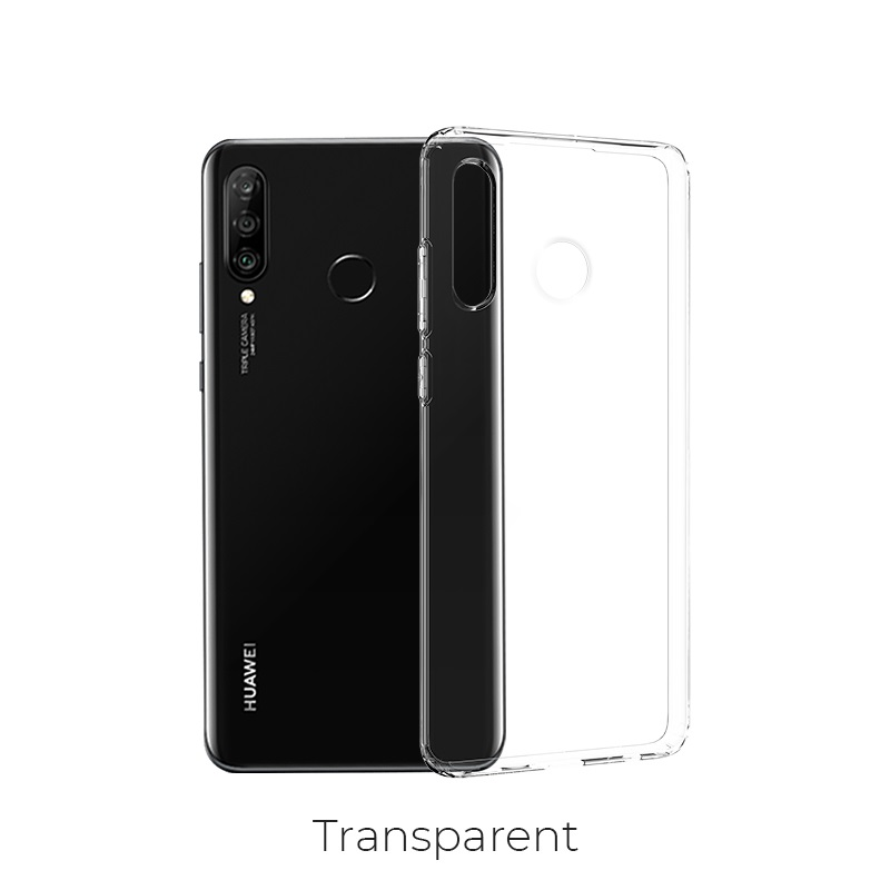 huawei nova 4e crystal case transparent
