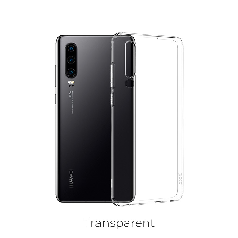 huawei p30 crystal case transparent