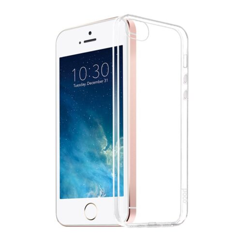hoco crystal clear series tpu protective case for iphone 5 5s se