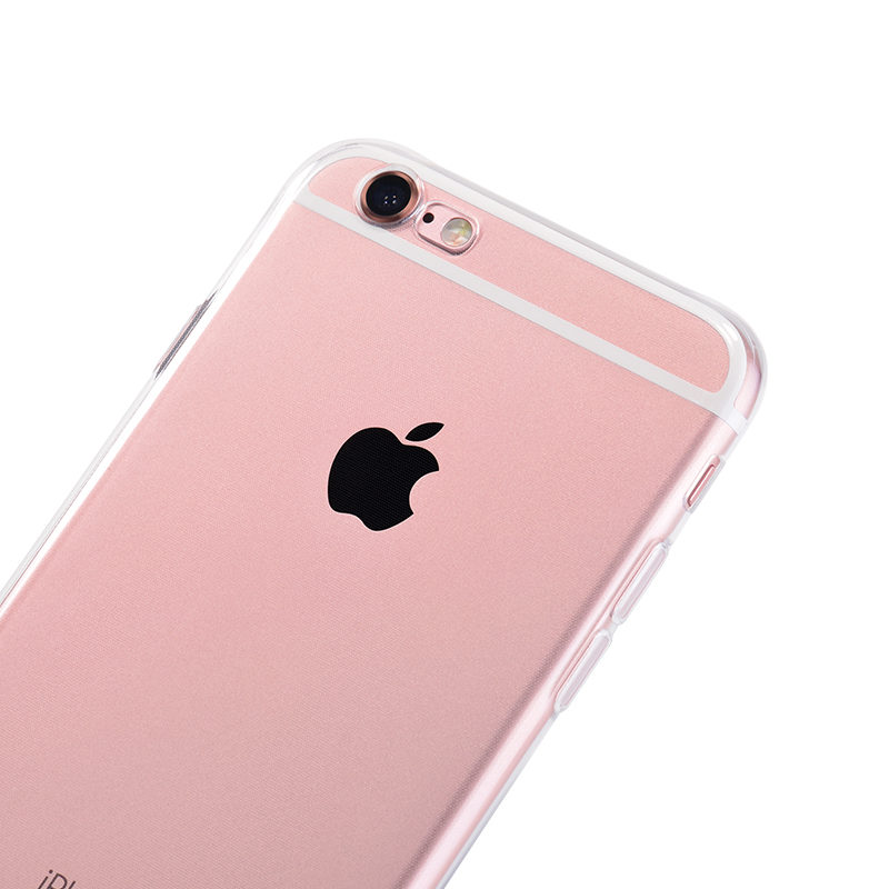 hoco crystal clear series tpu protective case for iphone 6 6s plus camera