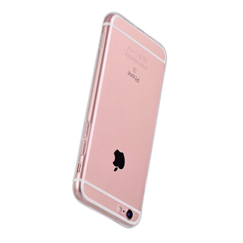 hoco crystal clear series tpu protective case for iphone 6 6s plus protection