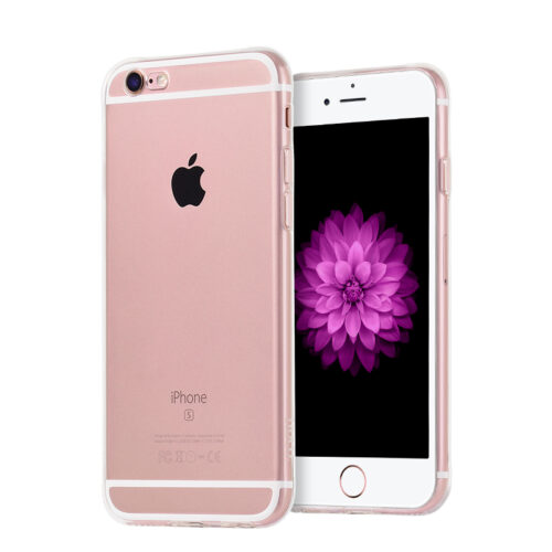 hoco crystal clear series tpu protective case for iphone 6 6s plus rose gold phone