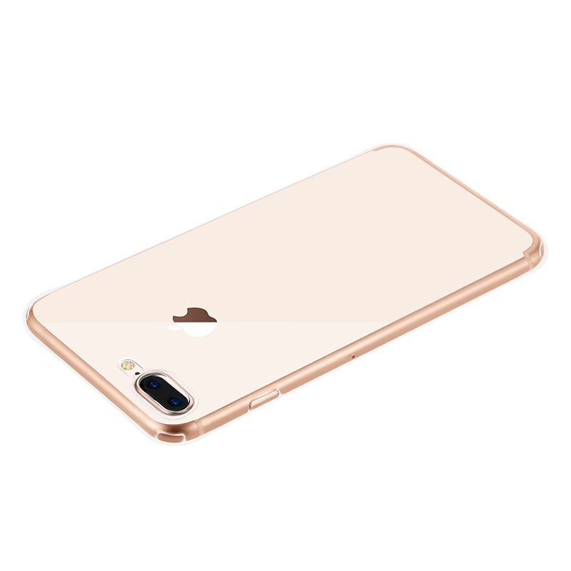 hoco crystal clear series tpu protective case for iphone 7 8 plus backside