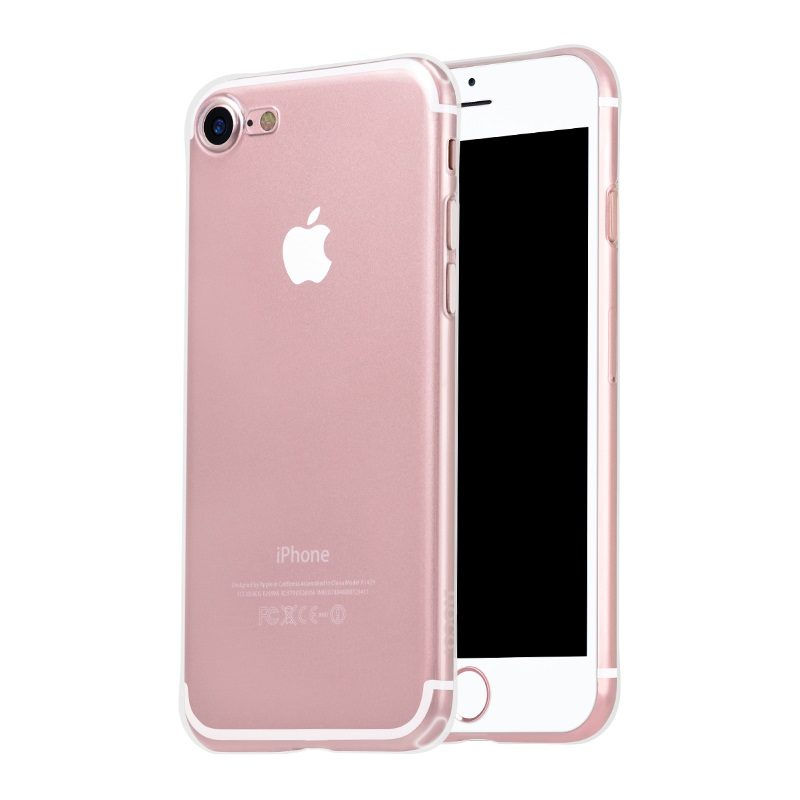 hoco crystal clear series tpu protective case for iphone 7 8 plus front back