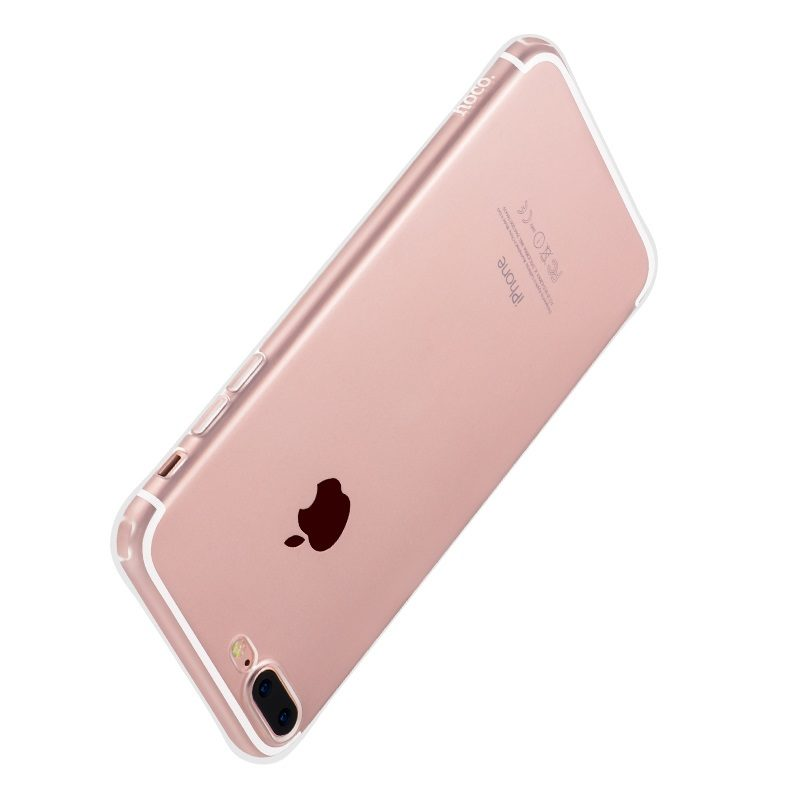 hoco crystal clear series tpu protective case for iphone 7 8 plus protection