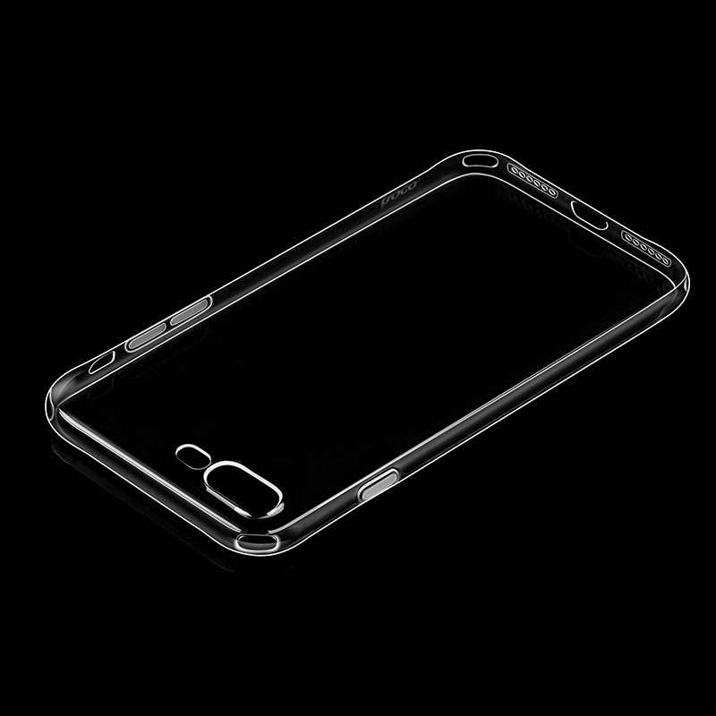 hoco crystal clear series tpu protective case for iphone 7 8 plus transparency