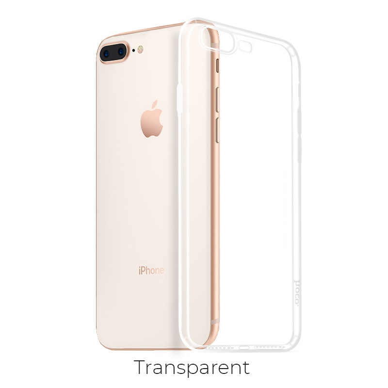 ip 7 8 plus crystal case transparent
