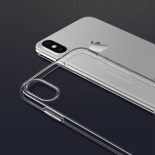 hoco crystal clear tpu защитный чехол для iphone xr камера