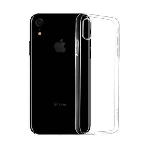 hoco crystal clear tpu защитный чехол для iphone xr телефон