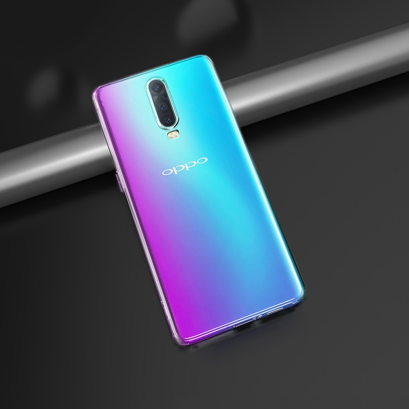 hoco crystal clear series tpu protective case for oppo r17 r17pro interior