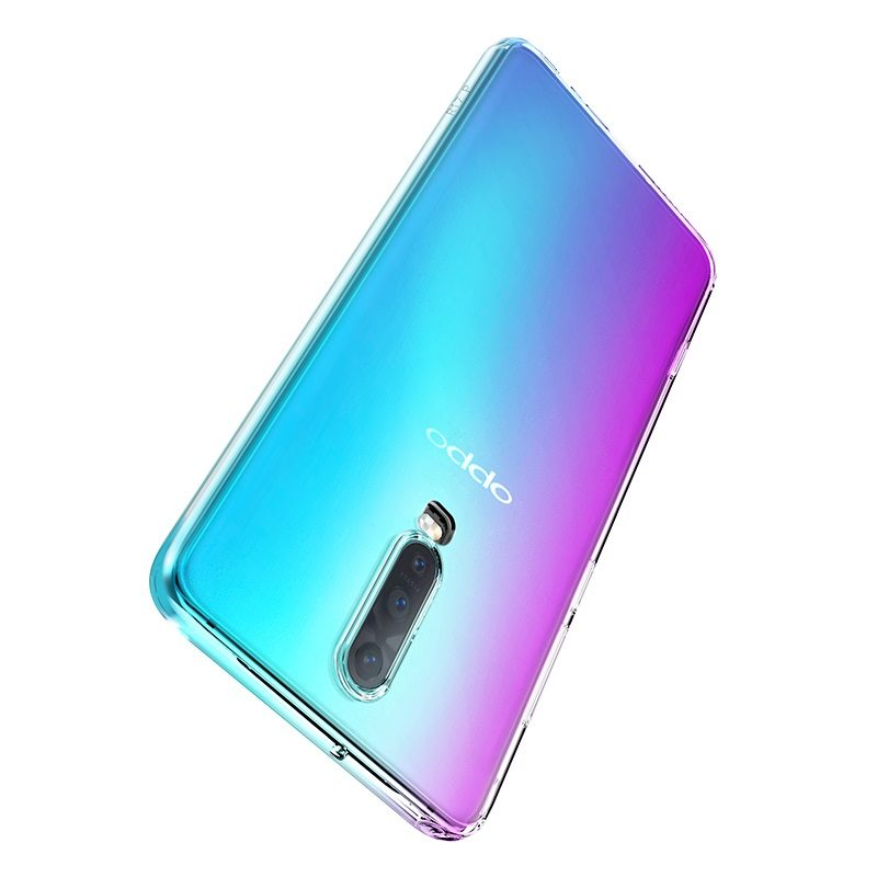 hoco crystal clear series tpu protective case for oppo r17 r17pro protection