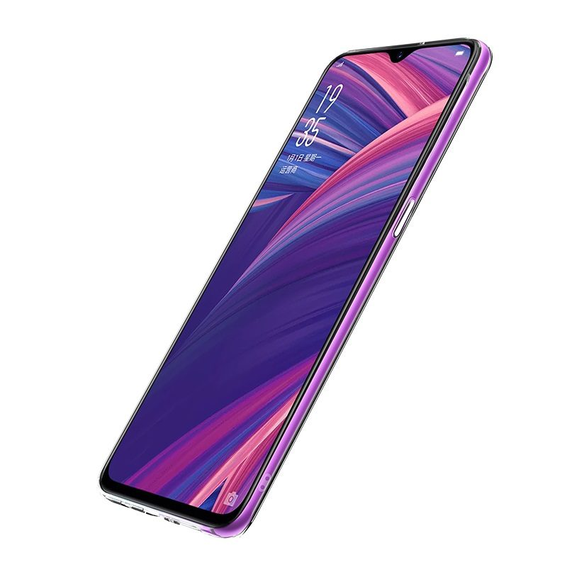 hoco crystal clear series tpu protective case for oppo r17 r17pro side