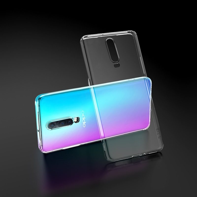hoco crystal clear series tpu protective case for oppo r17 r17pro transparency