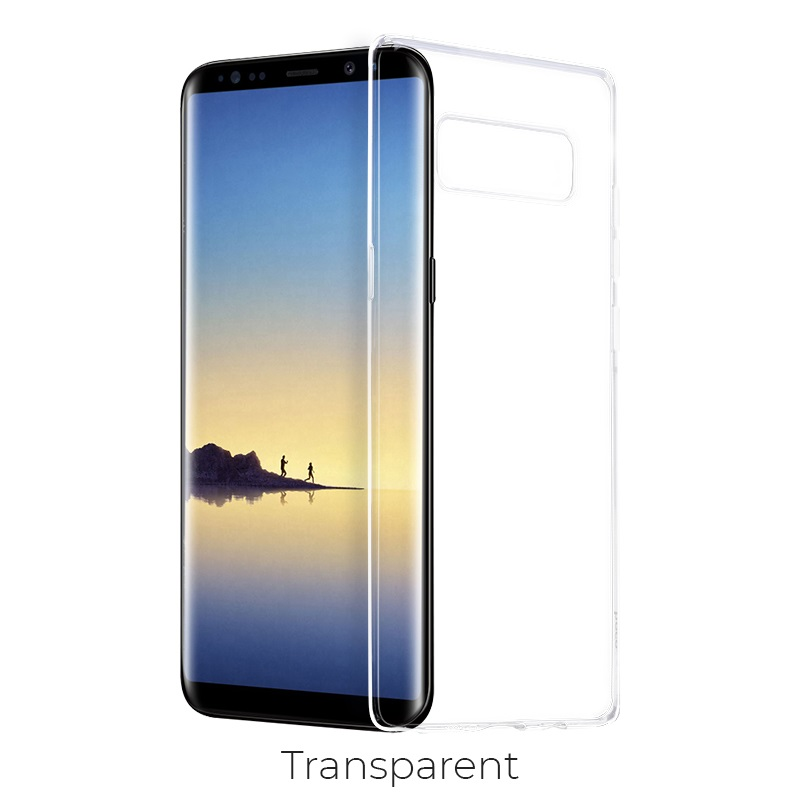galaxy note 8 crystal case transparent