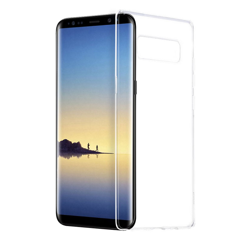 hoco crystal clear series tpu protective case for samsung galaxy note 8