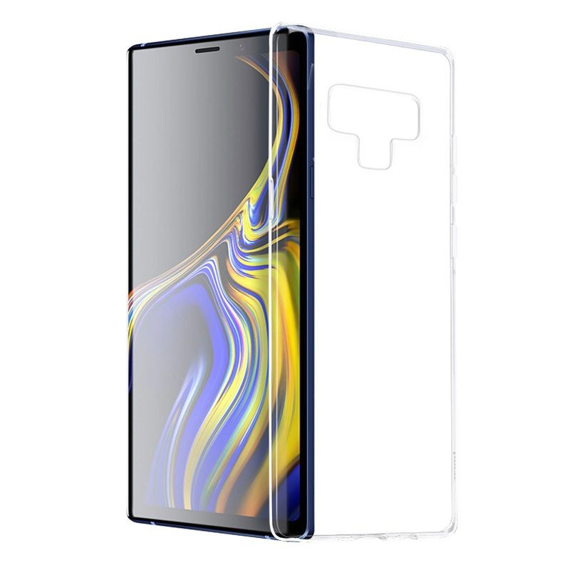 hoco crystal clear series tpu protective case for samsung galaxy note 9