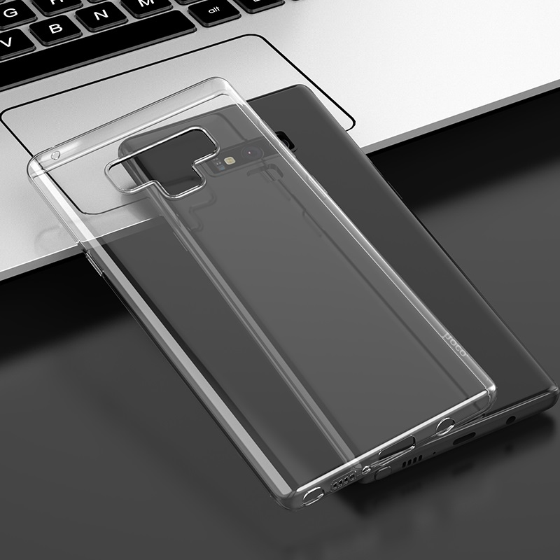 hoco crystal clear series tpu protective case for samsung galaxy note 9 interior