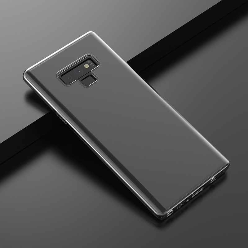 hoco crystal clear series tpu protective case for samsung galaxy note 9 overview