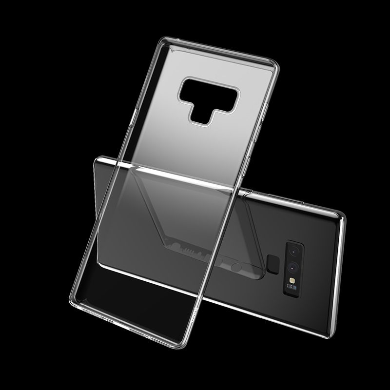 hoco crystal clear series tpu protective case for samsung galaxy note 9 phone