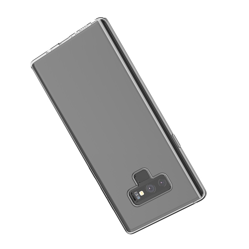 hoco crystal clear series tpu protective case for samsung galaxy note 9 protection