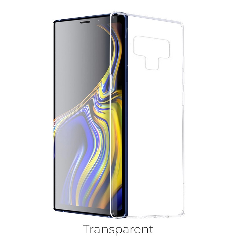 galaxy note 9 crystal case transparent