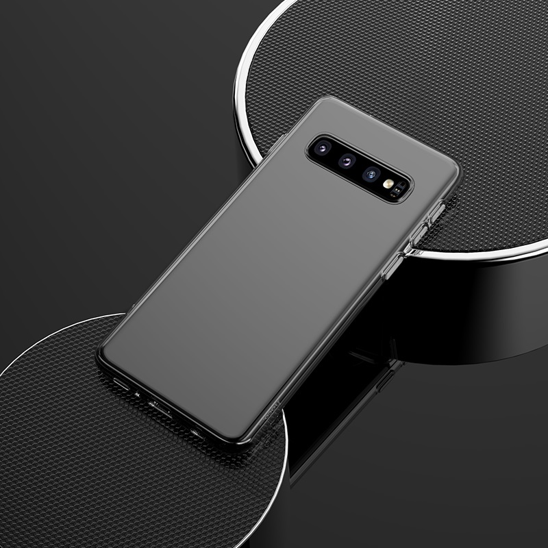 hoco crystal clear series tpu protective case for samsung galaxy s10 plus overview