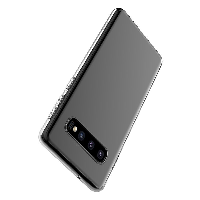 hoco crystal clear series tpu protective case for samsung galaxy s10 protection