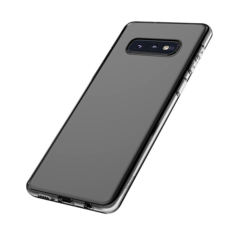 hoco crystal clear series tpu protective case for samsung galaxy s10e bottom