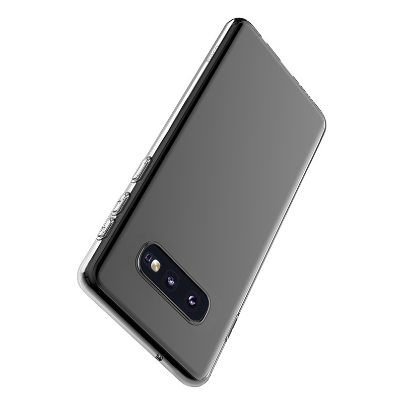 hoco crystal clear series tpu protective case for samsung galaxy s10e protection