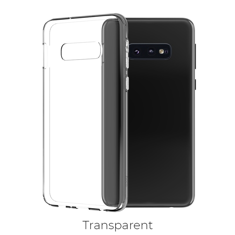 galaxy s10e crystal case transparent