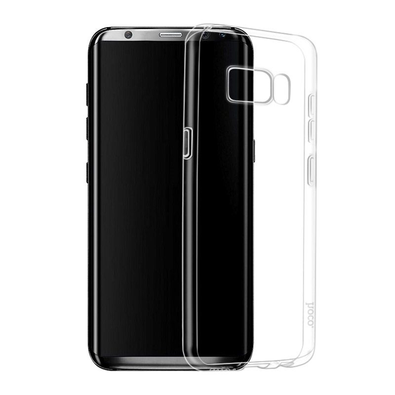 hoco crystal clear tpu защитный чехол для samsung galaxy s8 s8 plus