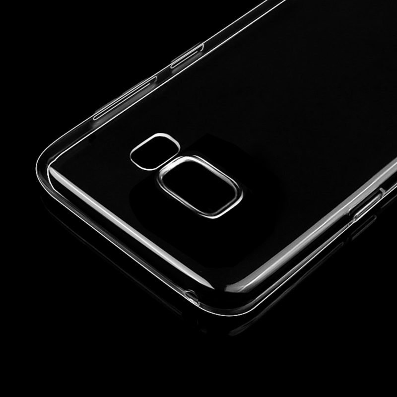 hoco crystal clear series tpu protective case for samsung galaxy s8 s8 plus holes
