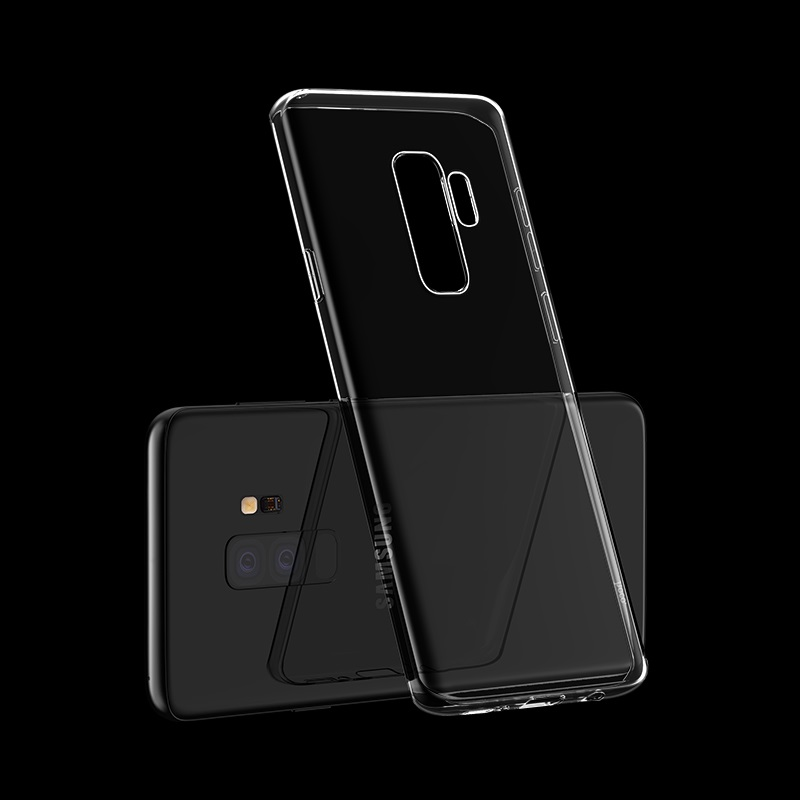 hoco crystal clear series tpu protective case for samsung galaxy s9 s9 plus phone
