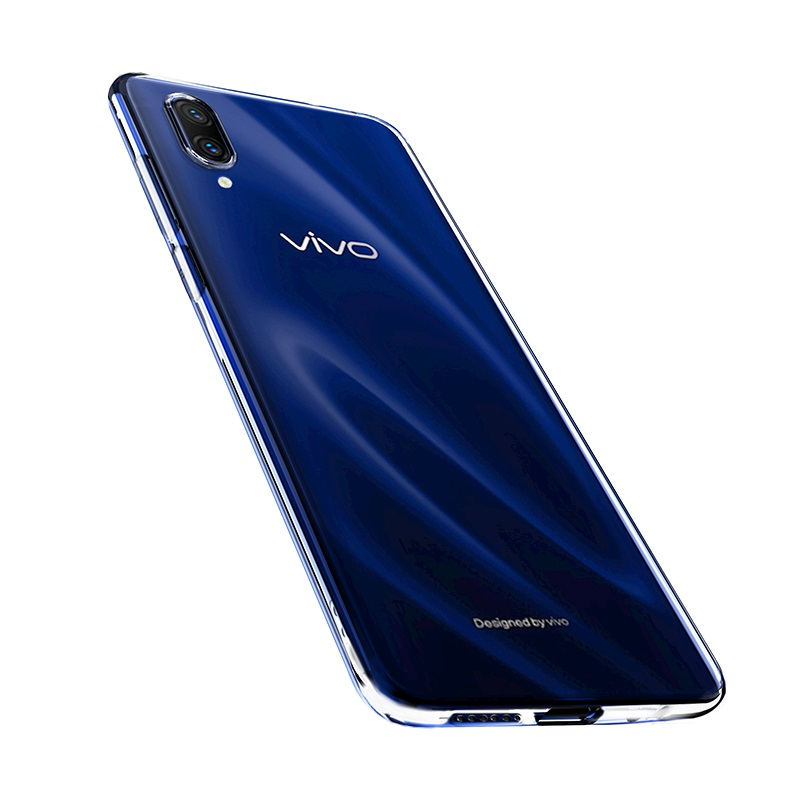 hoco crystal clear series tpu protective case for vivo x23 bottoms