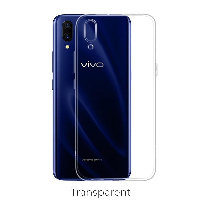 vivo x23 crystal чехол прозрачный