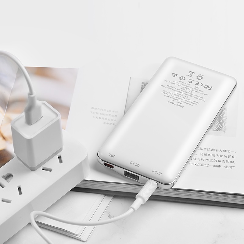 hoco j39 quick energy pd qc30 mobile power bank 10000mah interior