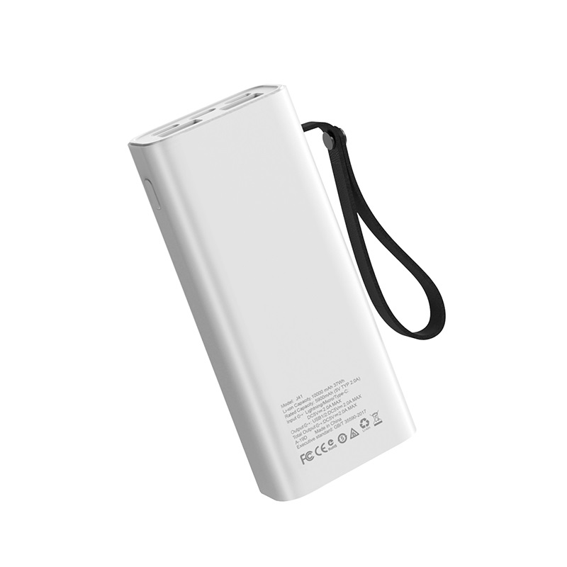 hoco j41 treasure mobile power bank 10000mah back