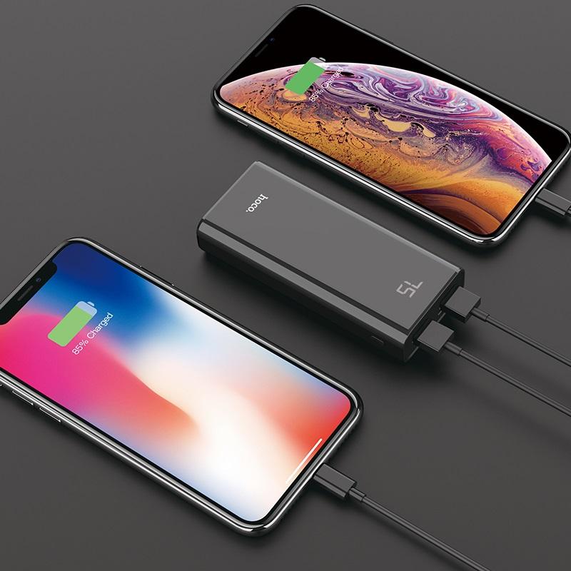 hoco j45 elegant shell mobile power bank 10000mah charging