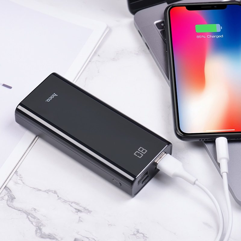 hoco j45 elegant shell mobile power bank 10000mah interior