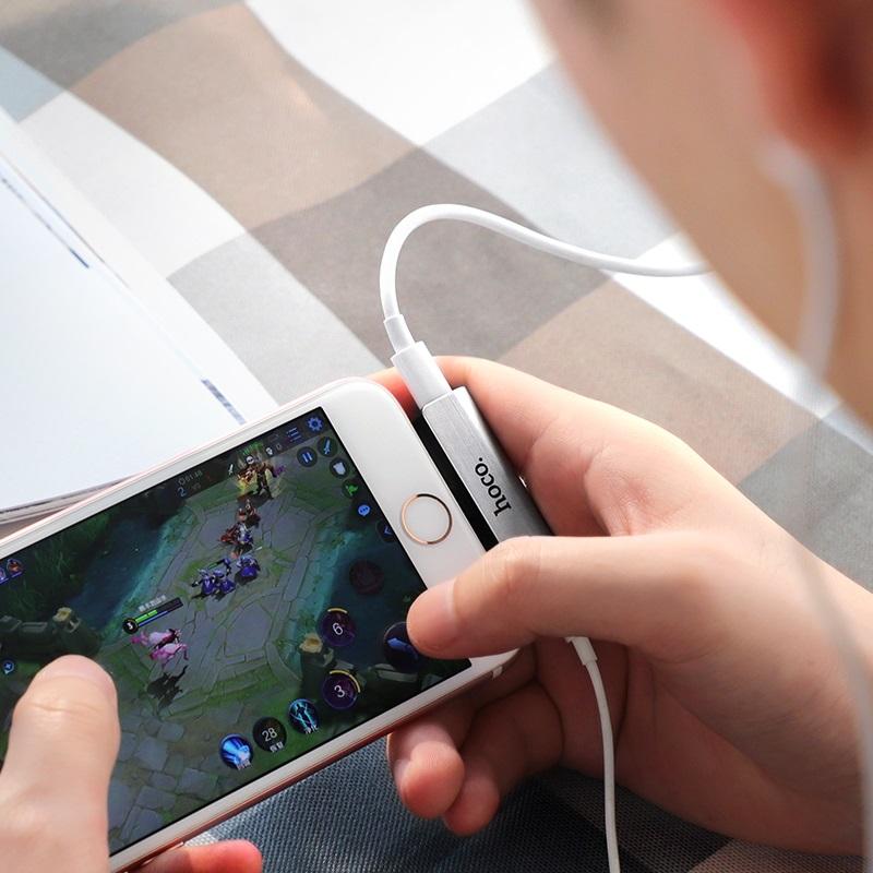 hoco ls25 digital lightning to 3 5mm audio converter for apple overview