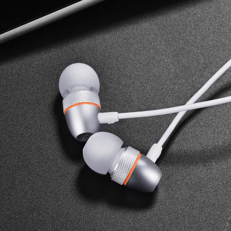 hoco m59 magnificent universal earphones with mic headphones