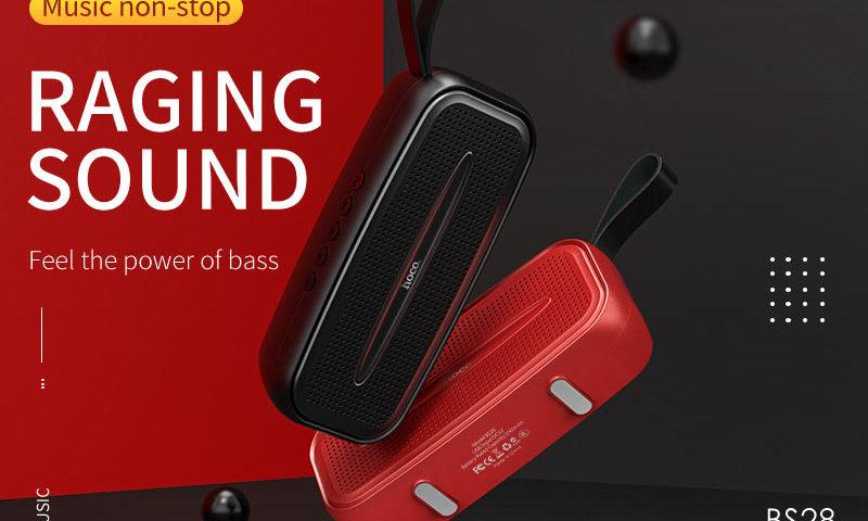 hoco news bs28 torrent wireless speaker banner en