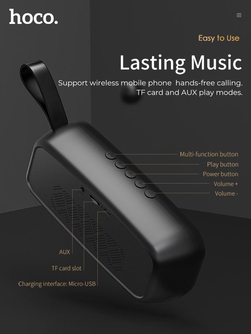 hoco news bs28 torrent wireless speaker overview en